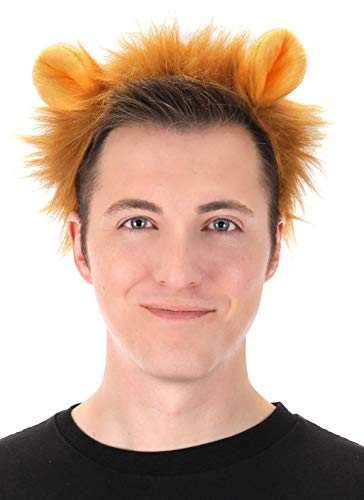elope Lion Ears Plush Headband and Tail Kit Brown ()