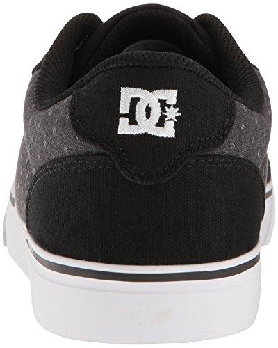 DC ANVIL TX SE M SHOE CHY ANVIL TX SE-M - Zapatillas de lona para hombre Black/Polka Dot