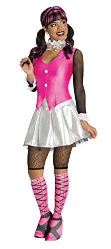 Rubies Womens Monster High Draculaura Adult Halloween Themed Party Fancy Costume, M (8-10)