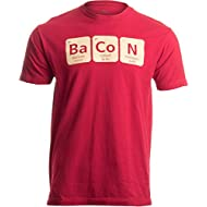 Bacon Periodic Table | Funny Nerd, Bacon Lover Unisex T-shirt-L