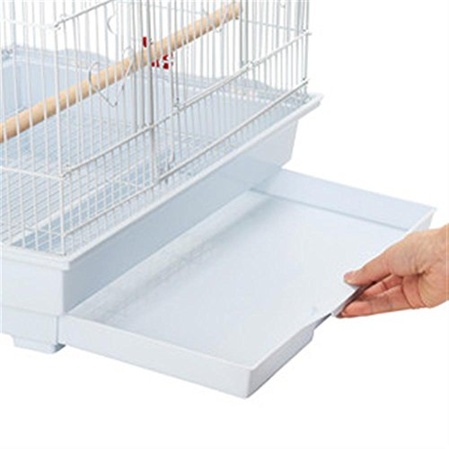 Yaheetech 36 Portable Hanging Medium Flight Bird Cage for Small Parrots Quaker Cockatiels Sun Parakeets Green Cheek Conures Finches Canary Budgies Lovebirds Travel Bird Cage