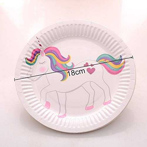 10 Pcs Fiesta Unicornio Flamenco Decoraciones Bricolaje ...