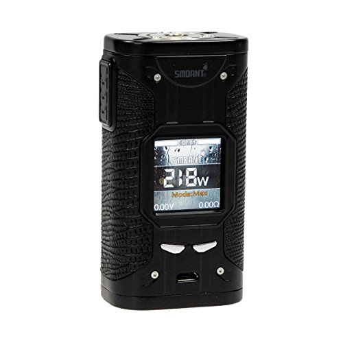 Smoant Cylon TC 218 Box MOD 218 Watt, Riccardo e-Zigarette – Akkuträger, schwarz