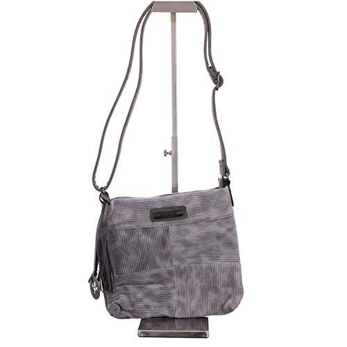 H Stein 1 x H1010 Women's Bag Rieker B T Stein 5 Shoulder Grey 5x25x25 cm gpBqYO