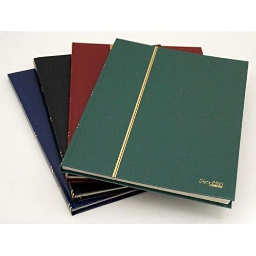 Album pour timbres, 16 pages, intérieur blanc (couv. Bleu)