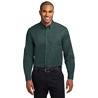 Port Authority Long Sleeve Shirt (S608) at  Men's Clothing store