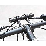 FidgetFidget GUB 560 Soporte de lámpara para manubrio de Bicicleta, Extensor de manubrio de Bicicleta @ 7H