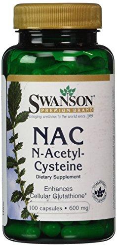 Swanson Nac N Acetyl Cysteine Caps