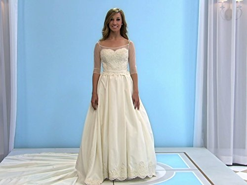 buy 1980s wedding dress - 4