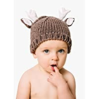 """The Blueberry Hill """"Hartley"""" Knitted Deer Hat 