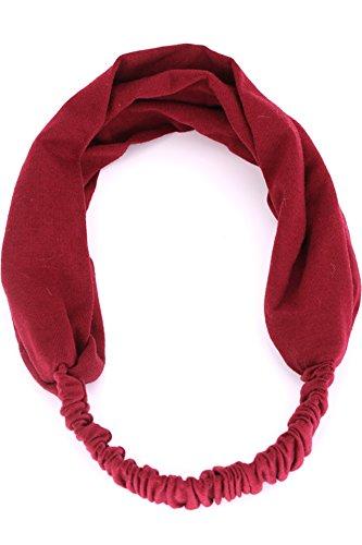 Generic Korean sweat hair and women running sports headband headband non-slip yoga accessories dance scarf broad-brimmed Korea by Generic (Image #2)