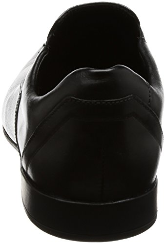 Clarks Nero Uomo Slip Mocassini Glement Black Leather fq6fOpwr