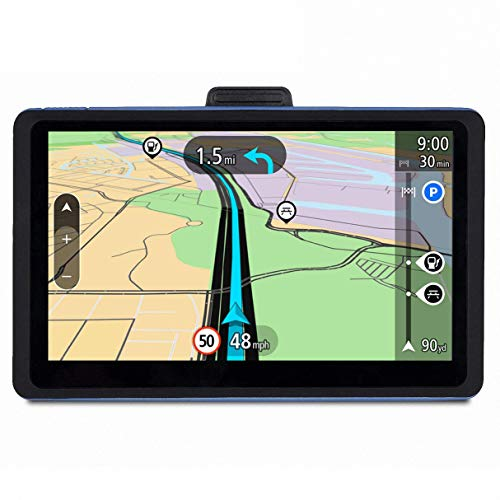 GPS for Car, 7 inches Portable Lifetime Map Update Spoken Turn-to-Turn Navigation System for Cars, Vehicle GPS, SAT NAV