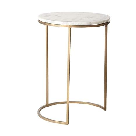 Lishuaishuai Household Marble Side End Table End Side Tables