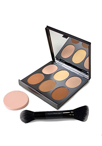 Magic Minerals Contour Makeup Palette – Complete Contour Kit by Jerome Alexander