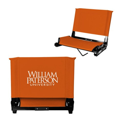 William Paterson Stadium Chair Orange 'William Paterson University Stacked' by CollegeFanGear