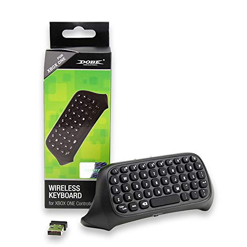 (Sandistore Xbox One Chatpad Keyboard KeyPad, - Portable Wireless Bluetooth Controller Built in USB Receiver for Xbox One Game Controller - Easy Sync with Your Controller)