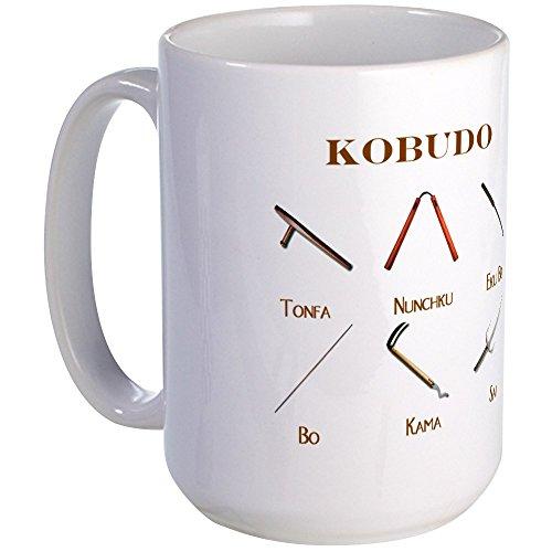 CafePress - Kobudo Weapons - Coffee Mug, Large 15 oz. White Coffee Cup