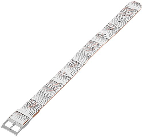 Fossil S181265 18mm Canvas Multi-Color Watch Strap (Fossil Replacement Band Leather)