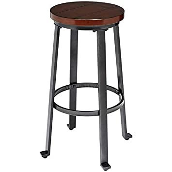 Ball Cast HSA-1002A Stools Stools Rustic Brown