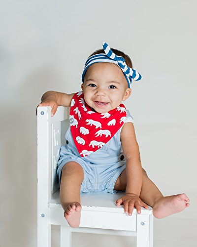 Baby Bandana Drool Bibs for Boys & Girls 12 Pack Forest Friends Set by Mumby by Mumby (Image #2)