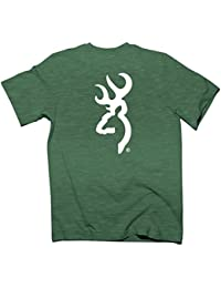 "<span class=""a-offscreen"">[Sponsored]</span>Men's Custom White Buck Mark T-Shirt"