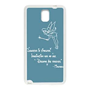 Peter Pan's Character Tinkerbell Phone Case for Samsung Galaxy Note3 Case