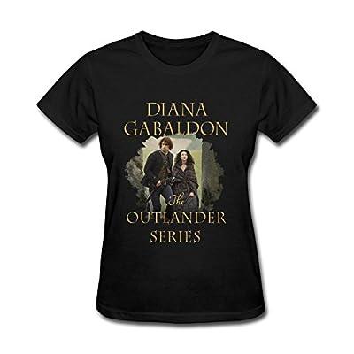 JuDian Outlander Tv Show Diana Gabaldon Poster T shirt For Women