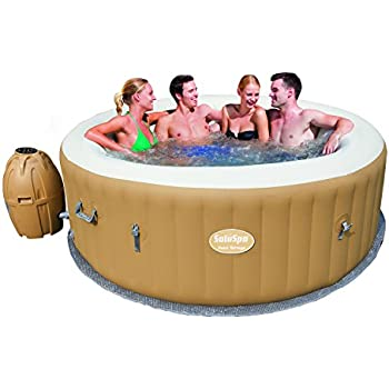 SaluSpa Palm Springs AirJet Inflatable 6-Person Hot Tub