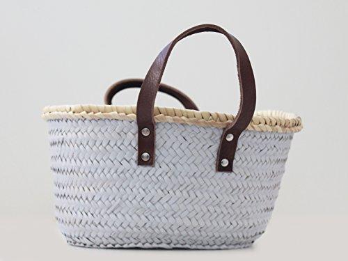 Leon Tico Decorative Soft Wicker BASKET | Home Décor | Office Basket| HANDMADE in SPAIN by Leon Tico