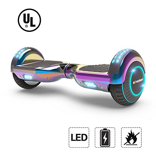 Hoverheart Lithium Free Hoverboard With LED Flashing Wheels