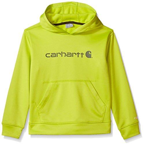 orce Signature Sweatshirt, Green, L-14/16 (Carhartt Chest Pocket Sweatshirt)