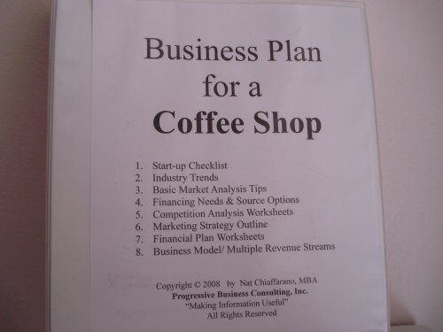business plan sample for coffee shop