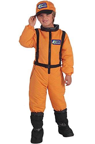 Forum Novelties Shuttle Commander Costume Uniform, Child (Big Space Shuttle)