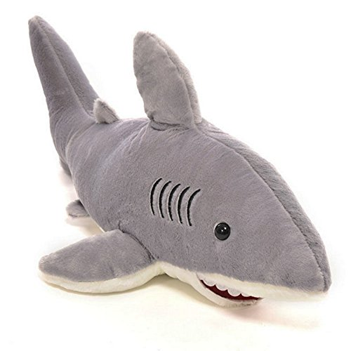 Money coming shop 1 Pc Creative Stuffed Dolls Soft Plush Marine Animal Gray Shark Plush Pillow Toys for Children High Quality Christmas Kids Gifts (Grace Under Fire Chocolate compare prices)