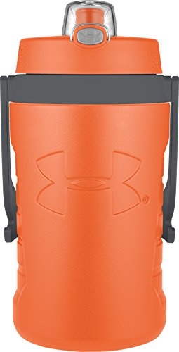Under Armour Sideline 64 Ounce Water Bottle, Blaze Orange