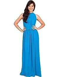 Long Blue Summer Dresses