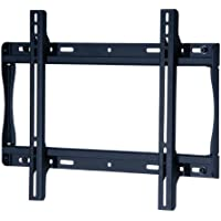 Peerless SF640P Universal Fixed Low-Profile Wall Mount for 32 - 50 Displays (Black/Non-Security)