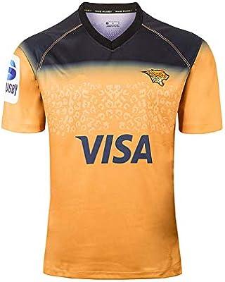 YHANS Camisetas de Rugby para Hombre,Los Hombres de Jaguar Inicio ...