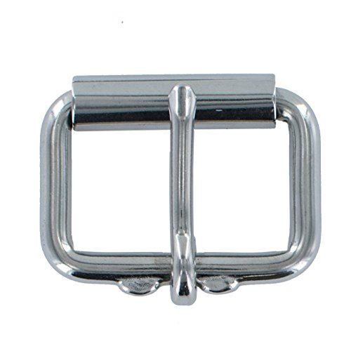 "Hanks 1.5"" Replacement Belt Stainless Steel Roller Buckle"