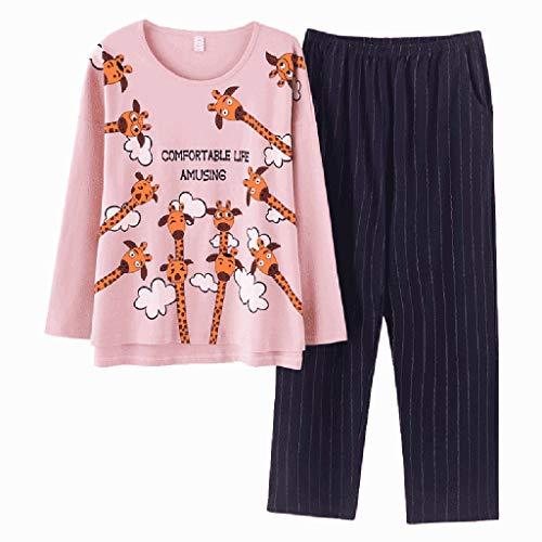 Pigiama nightclothes rosa moda donna pu