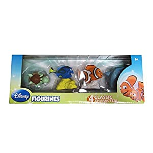Disney's Finding Nemo Figurine Toys Set – 4 Pack by Disney