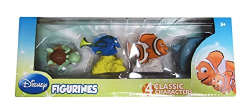 Disney's Finding Nemo Figurine Toys Set - 4 Pack by Disney ()