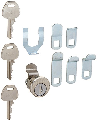 Salsbury Industries 1195 Universal Lock for CBU/NDCBU Pedestal Style Mailbox Door with Three Keys