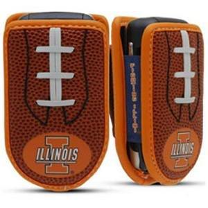 - Illinois Fighting Illini Designer Leather Cell Case