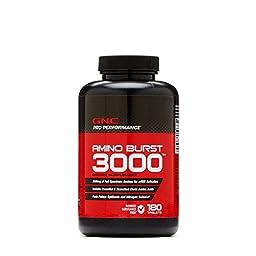 GNC Pro Performance Amino Burst 3000 180 Tablets