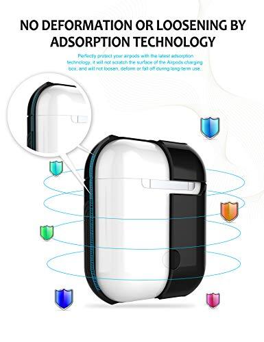 Proteggere Per In Antiurto Caricabatterie Morbido Airpods Caso Custodia Silicone Teryei Cover 2 Pc 3 Cassa 1 Case Aq16w