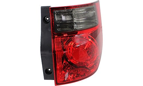 Evan-Fischer EVA15672041642 Tail Light for Honda Element 03-08 RH Lens and Housing Right Side Replaces Partslink# HO2819125 - Element Housing