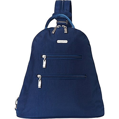 - baggallini Inspire Travel Backpack with RFID Wristlet - (Pacific/Cloud)
