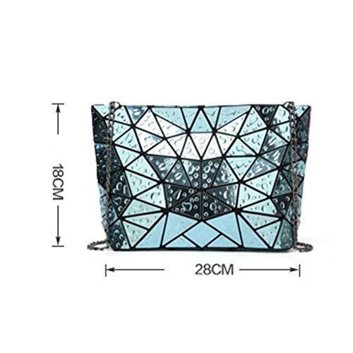 Sac géométrique Capacity Gold Capacity processeur de à Women Large bandoulière Large r1Crq